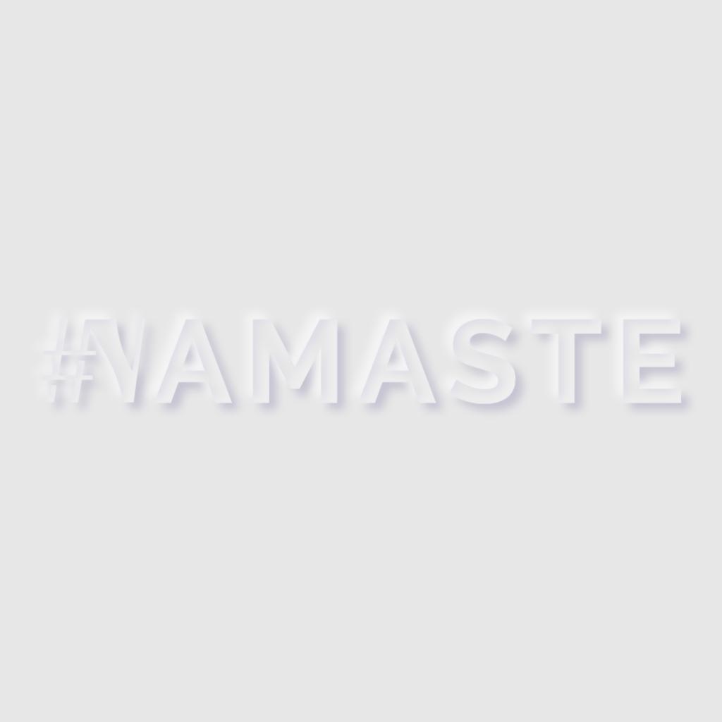 Logotype #NAMASTE