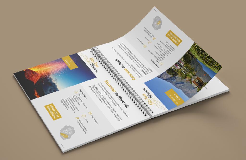 edition livret excursion bilingue page